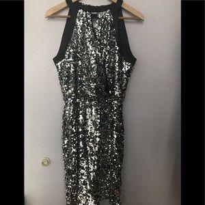 Tahari sequins dress